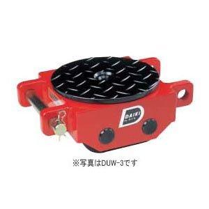 ダイキ 【個人宅不可】 スピードローラーダブル型ウレタン車輪2ton DUW-2 [A130528]
