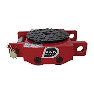 ダイキ スピードローラ低床ダブル型ウレタン車輪3ton DUW-3S [A230101]