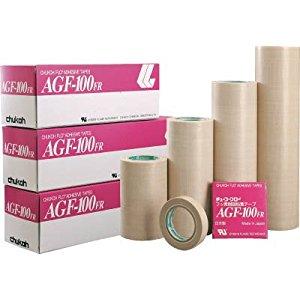 チューコーフロー 粘着テープ ガラスクロス 0.15-200×10 AGF100FR-15X200 [A230101]
