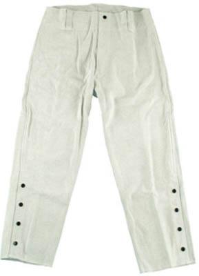 【★店内ポイント2倍!★】シモン 溶接用牛床革ズボン L寸 206-L [A011705]