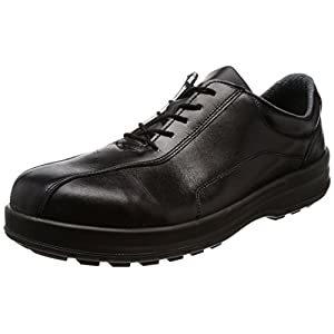 画像は代表画像です 贈答品 ご購入時は商品説明等ご確認ください ご予約品 シモン 耐滑 8512C-270 A060420 27.0cm 軽量3層底安全短靴8512黒C付
