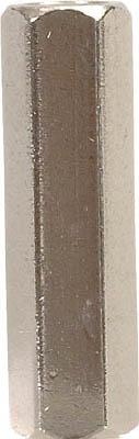 テイシン電機 黄銅スペーサー SBA-M5 メスーメス 100個入 SBA-590-E [A072121]