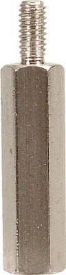 【◆◇スーパーセール!最大獲得ポイント19倍!◇◆】テイシン電機 黄銅スペーサー SBB-M5 オスーメス 100個入 SBB-580-E [A072121]