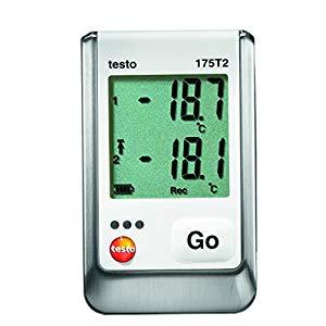 テストー 温度データロガ内蔵1チャンネル+外付1チャンネル TESTO175-T2 [A230101]