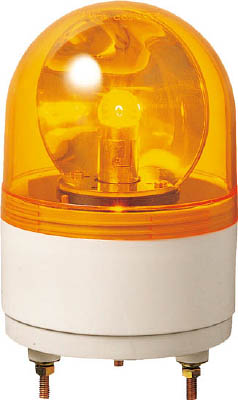 パトライト 小型回転灯 RH-24A-Y [A072121]