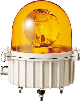 パトライト 完全防水型大型回転灯 SKV-110A-Y [A072121]