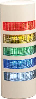【◆◇5と0の日!3/30限定!最大獲得ポイント23倍!◇◆】パトライト ウォールマウント薄型LED壁面 WEP-502FB-RYGBC [A072121]