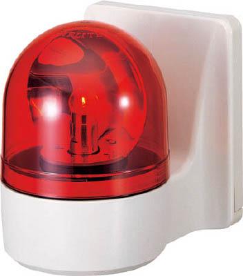 【30日限定☆カード利用でP14倍】パトライト 壁面取付け小型回転灯 WH-200A-R [A072121]