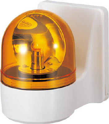 【30日限定☆カード利用でP14倍】パトライト 壁面取付け小型回転灯 WH-24A-Y [A072121]