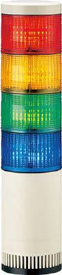 パトライト シグナルタワー LED大型積層信号灯 LGE-410FB-RYGB [A072121]
