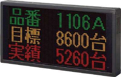【30日限定☆カード利用でP14倍】パトライト LED表示ボード 3色 VM96A-306TL [A072121]