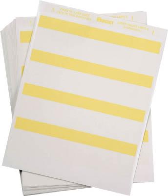 パンドウイット レーザープリンタ用セルフラミネートラベル 黄 S100X225YIJ [F040213]