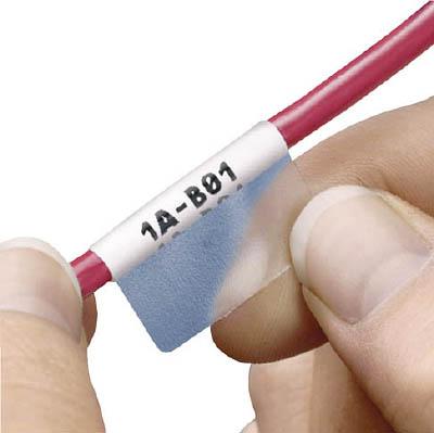 パンドウイット レーザープリンタ用セルフラミネートラベル 白 S100X400YAJ [F010201]