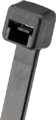 パンドウイット ナイロン結束バンド 難燃性黒 (1000本入) PLT2S-M60 [A051700]
