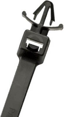 パンドウイット 押し込みタイプナイロン結束バンド 耐候性黒 (250本入) PLWP2H-TL0 [A051700]