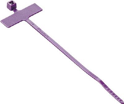パンドウイット 旗型タイプナイロン結束バンド 紫 (100本入) PLM1M-M7 [A051700]