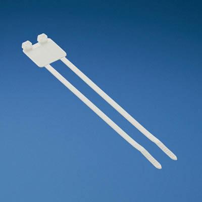 パンドウイット 旗型タイプナイロン結束バンド 白 (500本入) PL2M2S-D10 [A051700]