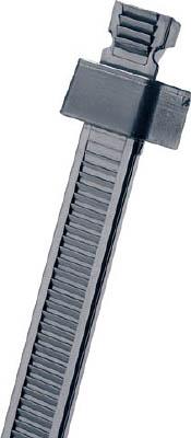 パンドウイット スタストラップ ナイロン結束バンド 黒 (1000本入) SST1.5M-M20 [A051700]