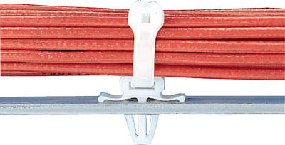 パンドウイット 押し込み型固定具 ナチュラル (1000個入) PWMS-H25-M [A051700]
