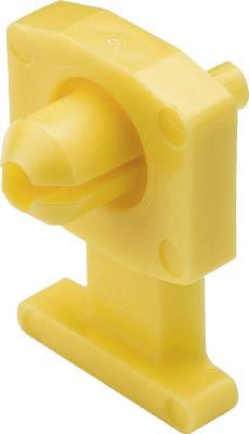 パンドウイット リベット式薄型押し込み固定具 黄 (1000個入) KIMS-H500-M4 [A051700]
