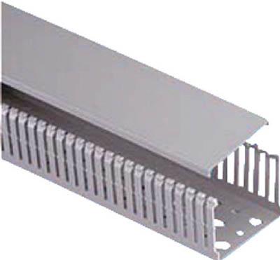 パンドウイット MCタイプ配線ダクト(PVC製 鉛フリー) グレー MC75X62IG2 [A051701]