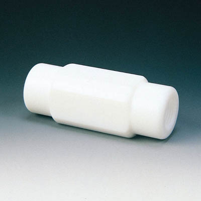 フロンケミカル フッ素樹脂(PTFE) チェックバルブA型 RC3/8 NR0098-002 [A092321]