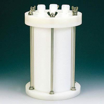 フロンケミカル フッ素樹脂 装置用円筒型容器A型 10000cc NR0118-004 [A012022]