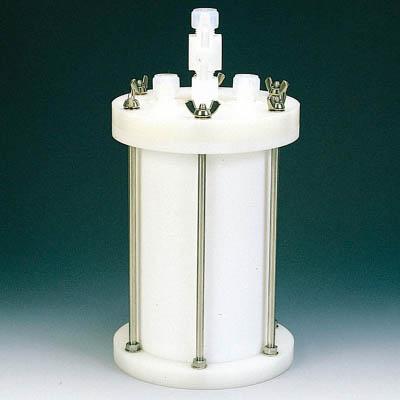 フロンケミカル フッ素樹脂 装置用円筒型容器B型 5000cc NR0119-003 [A012022]