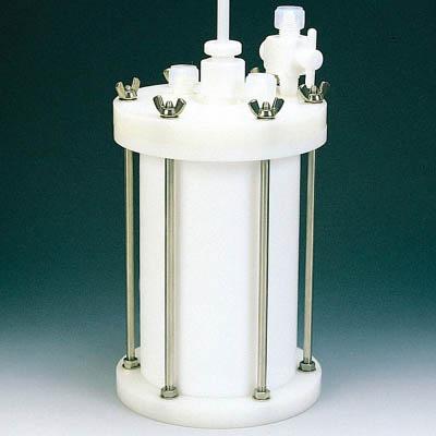 フロンケミカル フッ素樹脂 装置用円筒型容器C型 15000cc NR0120-005 [A012022]