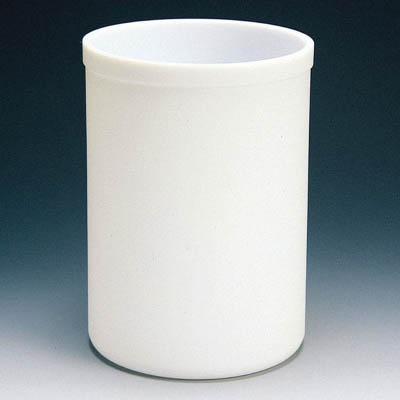 フロンケミカル フッ素樹脂(PTFE) 円筒型容器 5L NR0160-004 [A012022]