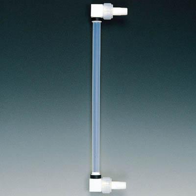 フロンケミカル フッ素樹脂 液面計B型タイプ R1×500mmP 18×27 NR0177-018 [A012022]