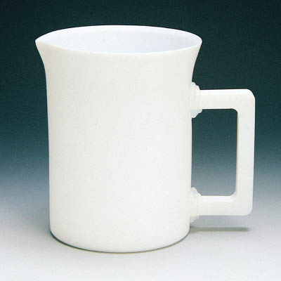 フロンケミカル フッ素樹脂(PTFE) 手付ビーカー 2000cc NR0200-003 [A012022]