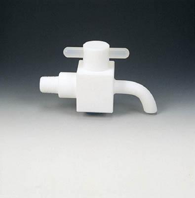 フロンケミカル フッ素樹脂(PTFE)ドレンコック R3/8 NR1001-002 [A092321]