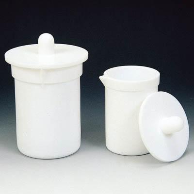 フロンケミカル フッ素樹脂(PTFE)肉厚ビーカー用蓋 3000cc用 NR1157-008 [A012022]
