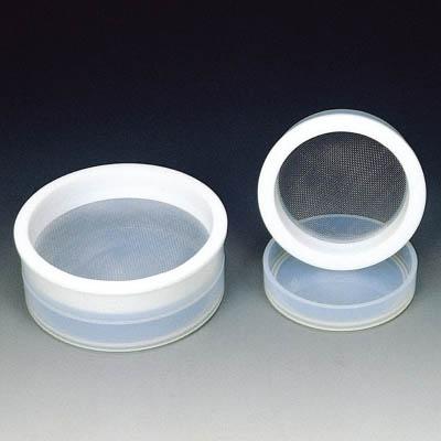 【◆◇スーパーセール!エントリーでP10倍!期間限定!◇◆】フロンケミカル フッ素樹脂(PTFE+PFA)ふるい平皿付 内径70 NR1273-001 [A012022]