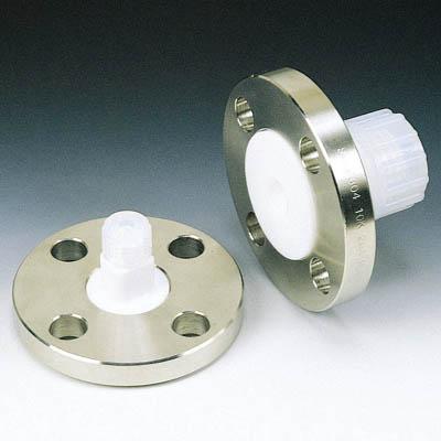 フロンケミカル SUS+フッ素樹脂フランジアダプター 20A-10K 12パイ NR1232-004 [A092321]