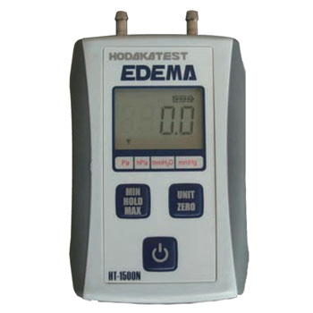 ホダカ デジタルマノメータ 低圧仕様 HT-1500NM [A230101]