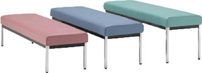 ミズノ 【個人宅不可】 長椅子W1800×D470×H385 ブラック MC1828-SH385-BK [F010806]