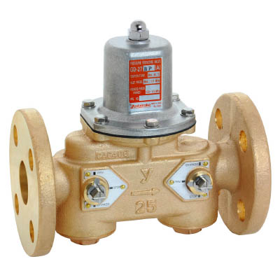 ヨシタケ バイパス付水用減圧弁 二次側圧力(A) 25A GD-27BP-A-25A [A150402]