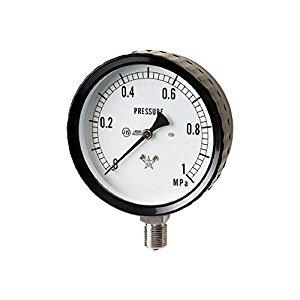 右下精器 右下 ステンレス圧力計 G411-261-0.4MP [A230101]