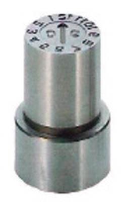 浦谷商事 P型金型デートマークOD型 16mm PB-OD-16 [A011915]