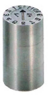 浦谷商事 P型金型デートマークD2型 16mm PS-D2-16 [A011915]