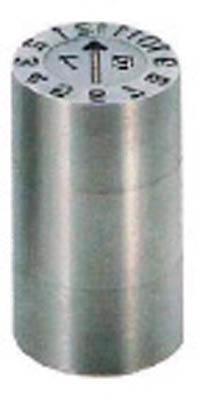 浦谷商事 P型金型デートマークNM型 16mm PS-NM-16 [A011915]