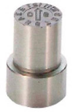 【◆◇エントリーで最大ポイント5倍!◇◆】浦谷商事 W型金型デートマークデートマークD2型 外径20mm WB-D2-20 [A011915]