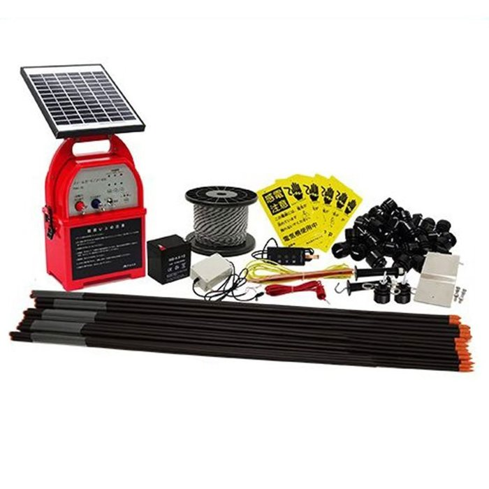 アルミス 電気柵ファームガード100mセット ソーラータイプ FGN-10SET-S [B031601]