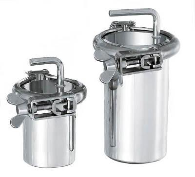日東金属工業 ステンレスヘルール式SUS316Lボトル1L PSO-1 [A012023]
