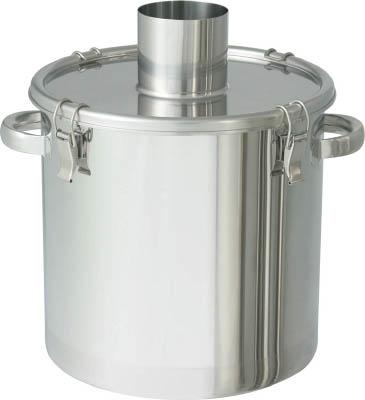 日東金属工業 【個人宅不可】 ステンレスタンク 粉体回収容器100Aパイプ 15L FK-CTH-27-SP-100A [A180407]