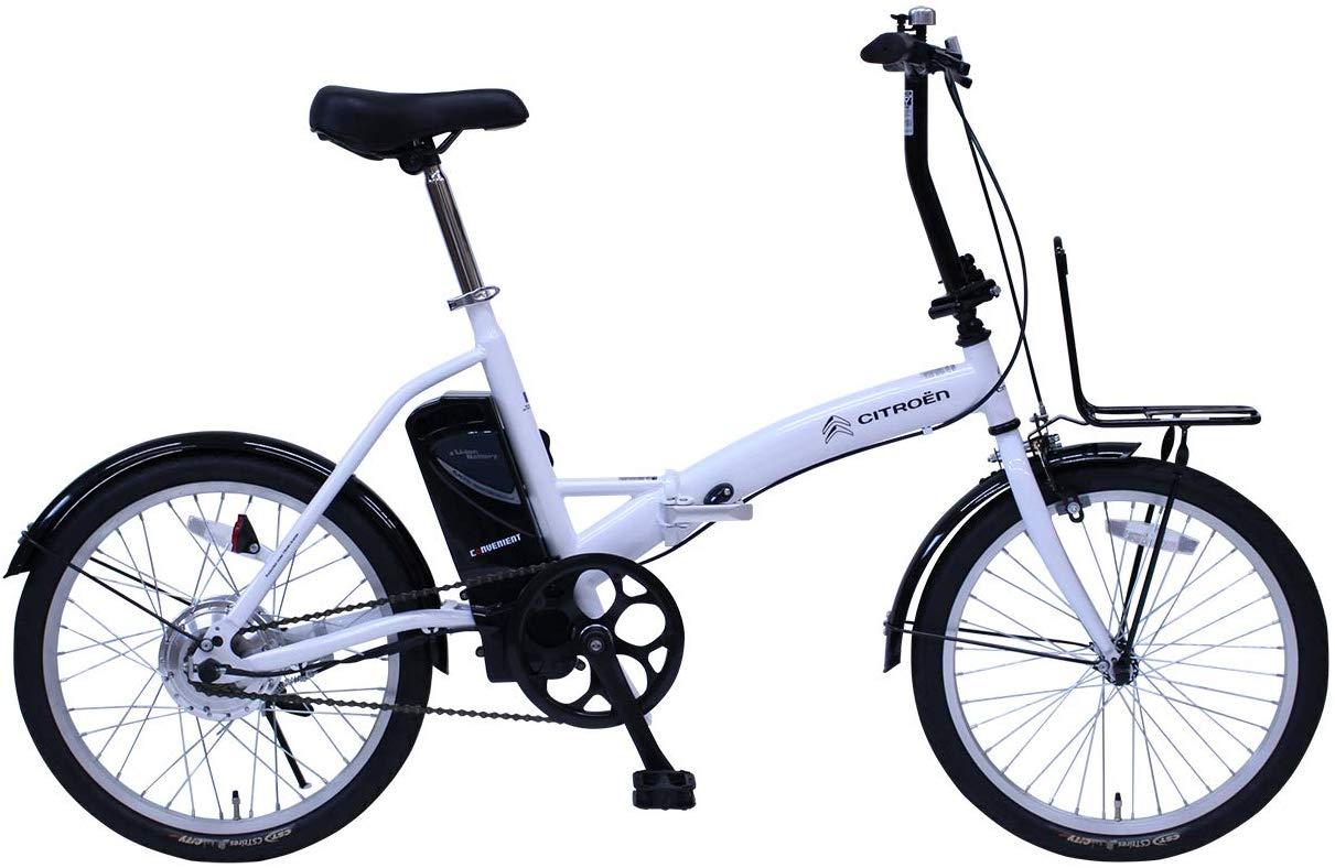 ミムゴ MIMUGO CITROEN(シトロエン) TM-FDB200E 20インチ 電動アシスト 折りたたみ自転車 MG-CTN20EB [G020306]