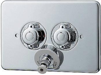 カクダイ KAKUDAI 洗濯機用混合栓//天井配管用 No.127-103 [A150701]