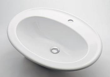 カクダイ KAKUDAI 【個人宅不可】 丸型洗面器//1ホール No.DU-0472620000 [A150101]